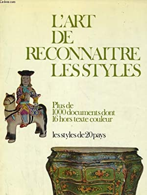 L'ART DE RECONNAITRE LES STYLES: GISELE BOULANGER