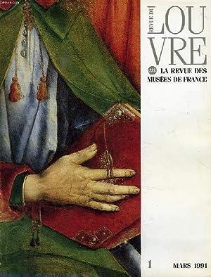 REVUE DU LOUVRE, N° 1, MARS 1991: COLLECTIF