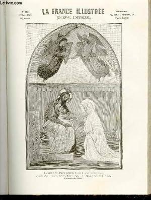 LA FRANCE ILLUSTREE N° 955 La mort de Saint Joseph, d'après la fresque de M. Villé: COLLECTIF