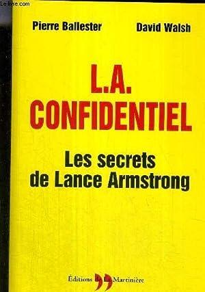 L.A CONFIDENTIEL - LES SECRETS DE LANCE: BALLESTER PIERRE WALSH