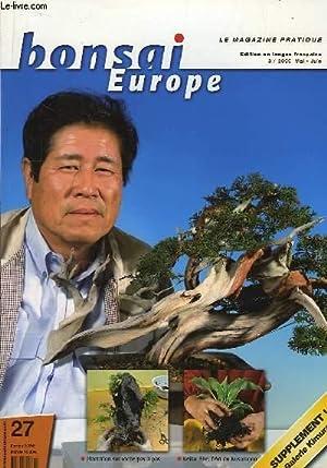 Bonsai Europe N°27 : Plantation sur roche: SACAL Michel &