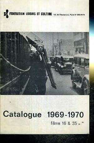 CATALOGUE 1969-1970 - FILMS 16 & 35: COLLECTIF