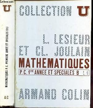 TOME 1 : ALGEBRE et GEOMETRIE /: LESIEUR L. /