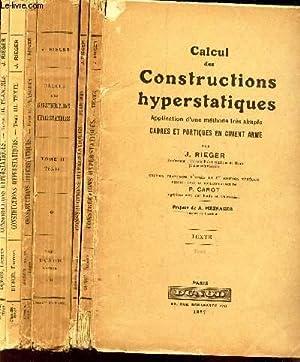 CALCUL DES CONSTRUCTIONS HYPERSTATIQUES - EN 6: RIEGER J.