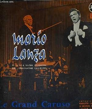 1 DISQUE AUDIO 33 TOURS - LE: LANZA MARIO