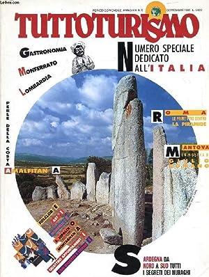 TUTTOTURISMO, ANNO XIII, N° 9, SETT. 1989,: COLLECTIF