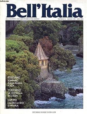 BELL'ITALIA, N° 16, AGOSTO 1987 (Sommario: Tra: COLLECTIF