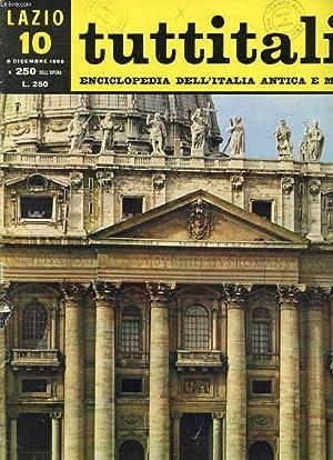 TUTTITALIA, N° 250, DIC. 1965, LAZIO, 10,: COLLECTIF