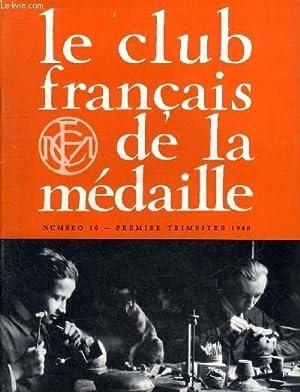 LE CLUB FRANCAIS DE LA MEDAILLE N°: COLLECTIF