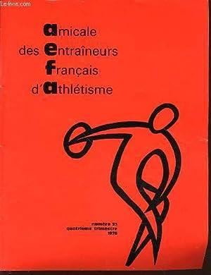 AMICALE DES ENTRAINEURS FRANCAIS D'ATHLETISME N°53 -: COLLECTIF