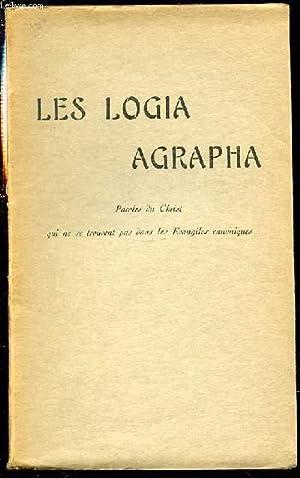 LES LOGIA AGRAPHA - PAROLES DU CHRIST: BESSON EMILE