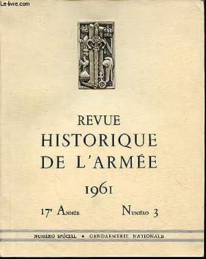 REVUE HISTORIQUE DE L'ARMEE 1961 - 17: COLLECTIF