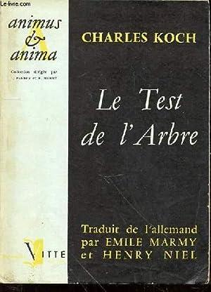 LE TEST DE L'ARBRE : LE DIAGNOSTIC: KOCH CHARLES