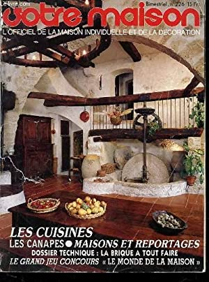 VOTRE MAISON - L'OFFICIEL DE LA MAISON: COLLECTIF