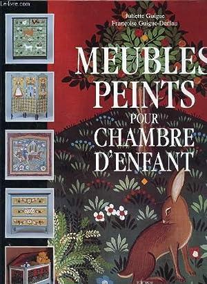 MEUBLES PEINTS POUR CHAMBRE D'ENFANTS: GUIGUE JULIETTE -