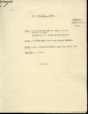 DOCUMENT I.N.S. N°433 - ATHLETISME : LANCER: KOPF HELMUT