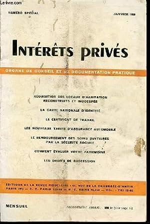 INTERETS PRIVES : ORGANE DE CONSEIL ET: COLLECTIF