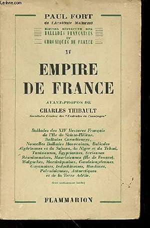 EMPIRE DE FRANCE - AVANT-PROPOS DE CHARLES: FORT PAUL