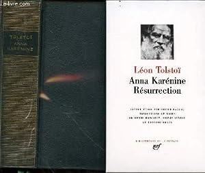 Anna Karénine - Résurrection.: Tolstoï Léon
