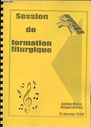 SESSION DE FORMATION LITURGIQUE : LE CHANTRE-ANIMATEUR,: COLLECTIF
