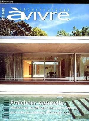 ARCHITECTURES A VIVRE N°25 - juillet/aout 2005: COLLECTIF