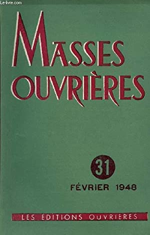 MASSES OUVRIERES N°31 - FEV 48 : COLLECTIF