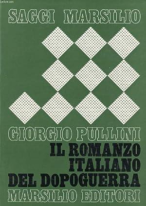IL ROMANZO ITALIANO DEL DOPOGUERRA (1940-1960): PULLINI GIORGIO