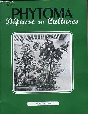 PHYTOMA DEFENSE DES CULTURES N°204 JANVIER 1969: COLLECTIF