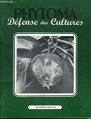 PHYTOMA DEFENSE DES CULTURES N°221 SEPT OCT: COLLECTIF