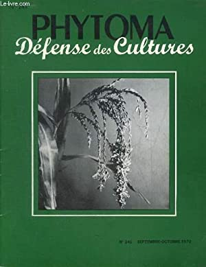 PHYTOMA DEFENSE DES CULTURES N°241 SEPT OCT: COLLECTIF
