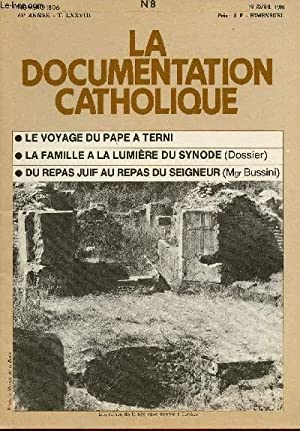 LA DOCUMENTATION CATHOLIQUE N°1806- 63E ANNEE -: COLLECTIF