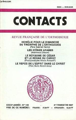 CONTACT N°140- 4e TRIM 1987 : Homélie: COLLECTIF