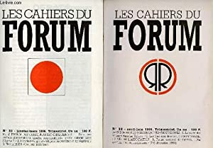 LES CAHIERS DU FORUM - LOT DE: COLLECTIF