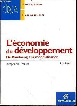 L'economie du developpement de bandoeng à la: TREILLET STEPHANIE