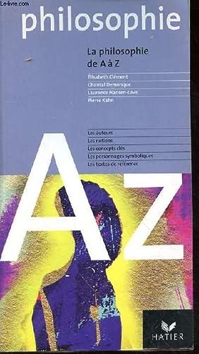 PHILOSOPHIE DE A à Z: CLEMENT E. -