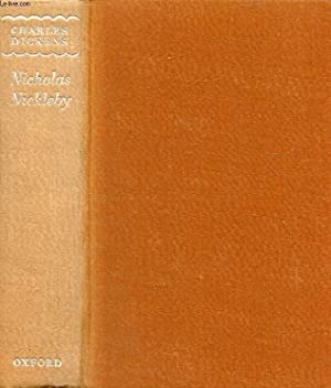 THE LIFE AND ADVENTURES OF NICHOLAS NICKLEBY: DICKENS CHARLES