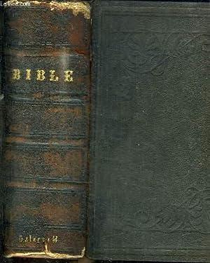 LA SAINTE BIBLE QUI CONTIENT LE VIEUX: OSTTERVALD J. F.
