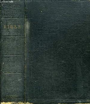 LA SAINTE BIBLE QUI CONTIENT LE VIEUX: OSTERVALD J. F.