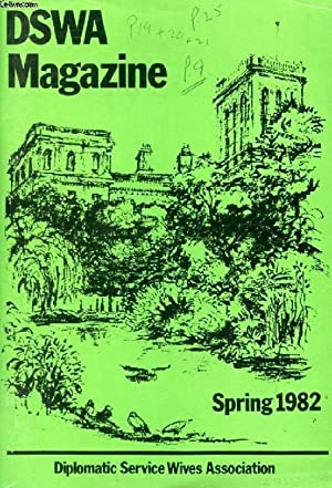 D.S.W.A. NEWSLETTER, SPRING 1982 (Contents: Reporting from: COLLECTIF