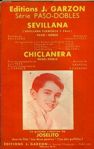 CHICLANERA / SEVILLANA: VIDAL L / OROPESA ET CARMONA
