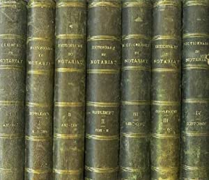DICTIONNAIRE DU NOTARIAT, 13 TOMES (18 VOLUMES): COLLECTIF