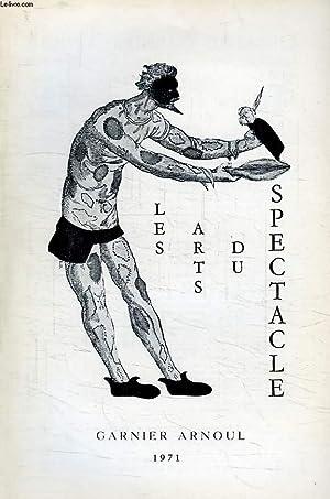LES ARTS DU SPECTACLE, N° 22, 1971: COLLECTIF