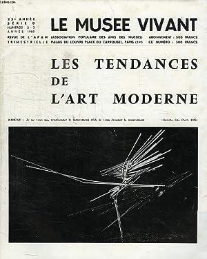 LE MUSEE VIVANT, 23e ANNEE, SERIE D, N° 2-3, 1959: COLLECTIF