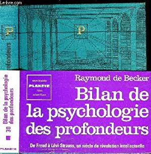 BILAN DE LA PSYCHOLOGIE DES PROFONDEURS: DE BECKER RAYMOND