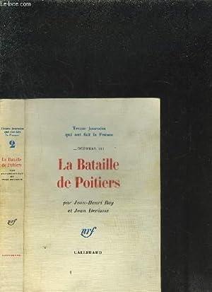 LA BATAILLE DE POITIERS: ROY JEAN HENRI