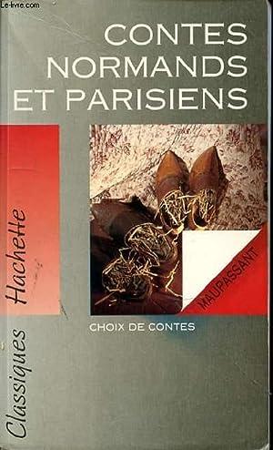 CONTES NORMANDS ET PARISIENS: MAUPASSANT
