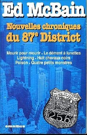 Nouvelles chroniques du 87 eme district : MCBAIN ED