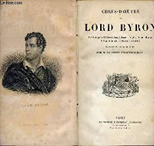CHEFS D OEUVRES DE LORD BYRON: LORD BYRON -