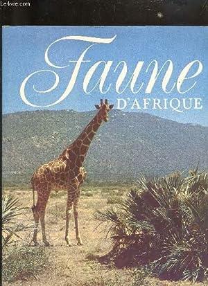 FAUNE D'AFRIQUE.: FELIX JIRI