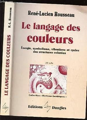 LE LANGUAGE DES COULEURS - ENERGIE SYMBOLISME: ROUSSEAU RENE LUCIEN
